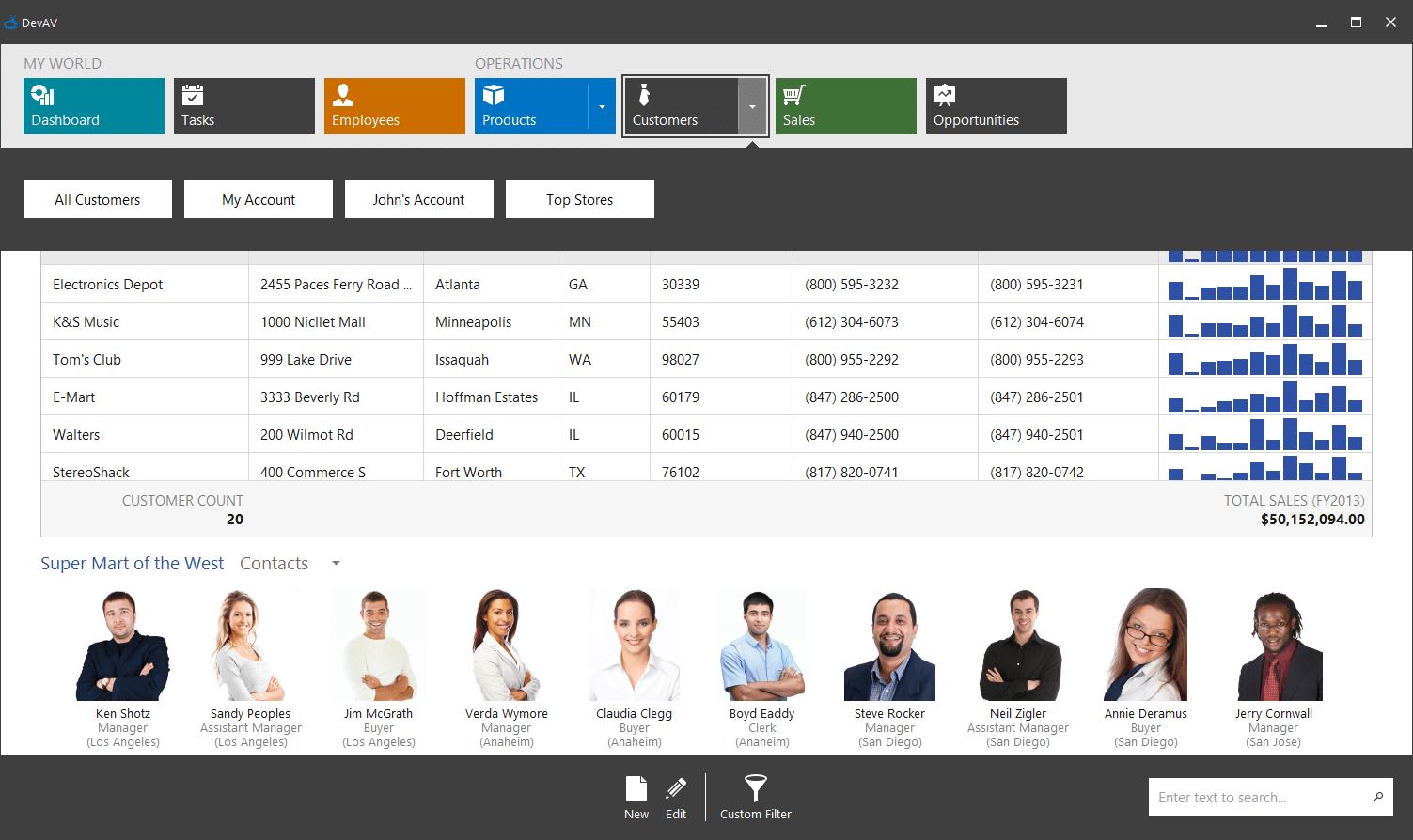 Windows 10 Tile UI Controls