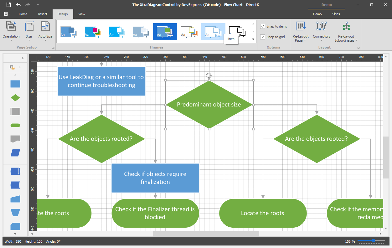 Diagram Control for WinForms